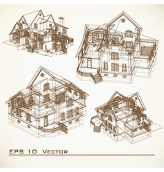 Set of Architectural Elements vector image vector image