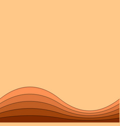 Wavy abstract background from curved stripes - vector