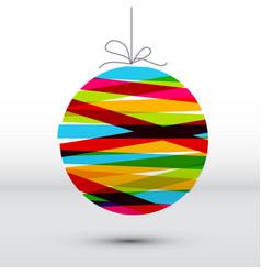 Minimalistic simple christmas card vector