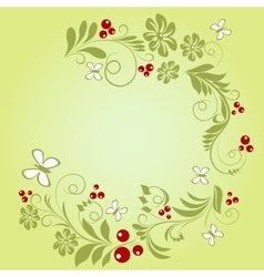 Pattern of natural ingredients vector
