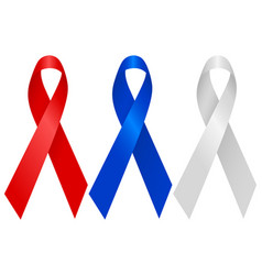 aids ribbon vector image