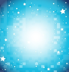 Background design with stars on blue vector
