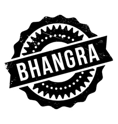Famous dance style bhangra stamp vector