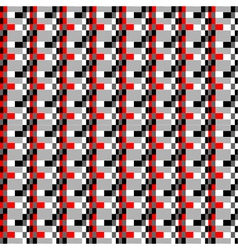geometric pixels pattern vector image vector image
