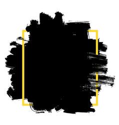 Grunge brushed background vector