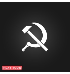 Hammer and sickle vector