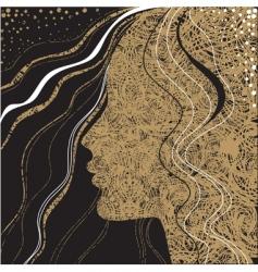 woman illustration vector image