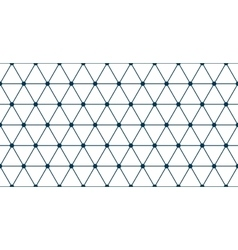 Triangle grid seamless vector