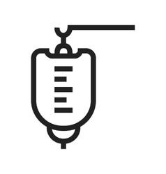 Medical drip vector