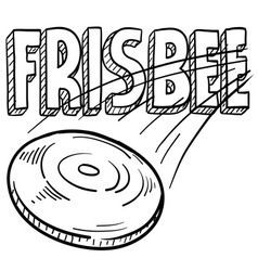 Frisbee vector image vector image