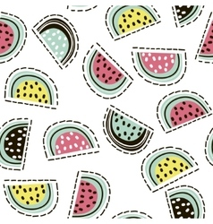 Modern fruit seamless pattern Background with vector image vector image