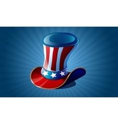 Uncle Sam hat vector image