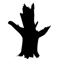Old tree vector
