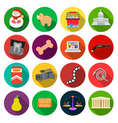 Improvement business progress and other web icon vector