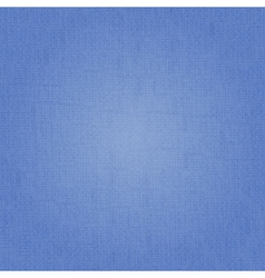 blue fabric texture vector image vector image
