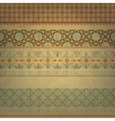 scrap template vintage vector image