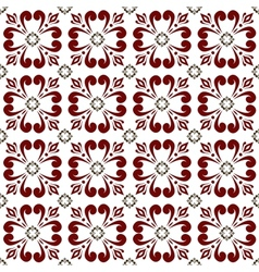 vinous seamless abstract pattern vector image vector image