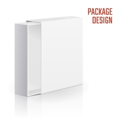Gift carton box vector