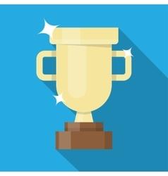 Winner golden cup vector