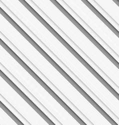 Geometrical pattern with white beveled diagonal vector