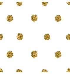 Hand drawn dots seamless pattern vector