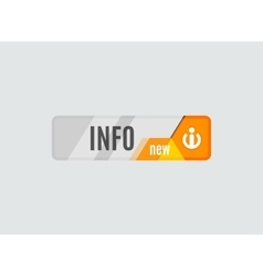 Info button - information sign icon vector