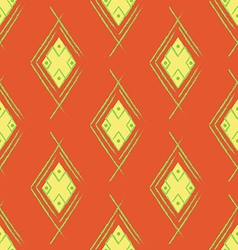Seamless Orange Red Carpet vector image vector image