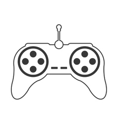 Game controller icon vector