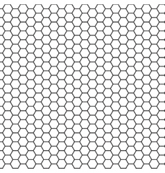 Abstract science hexagon background vector