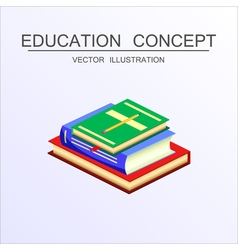 Concept education 26 vector
