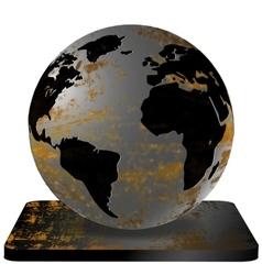 Iron Earth vector image vector image