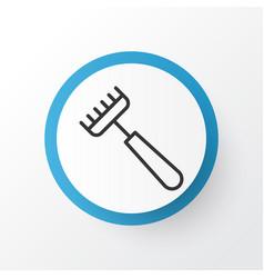 Pitchfork icon symbol premium quality isolated vector