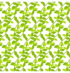 Stylized cartoon liana jungle seamless pattern vector