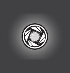 Turbine logo design vector