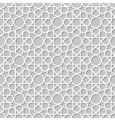 Moroccan paper seamless vector