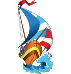 Sea Regatta vector image