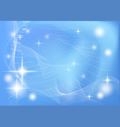 Abstract blue - white background vector
