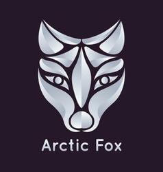 Arctic Fox Icon vector image