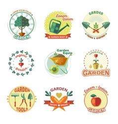Garden Icon Set vector image