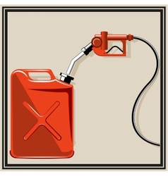 Gas pump nozzle vector
