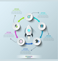 infographic design layout vector image vector image