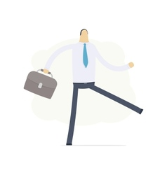 manager go to work vector image vector image