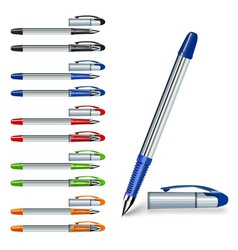 Writing pen vector