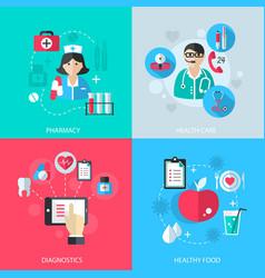 Medicine healthcare services concept vector