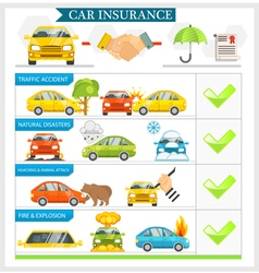 Car Insurance vector image