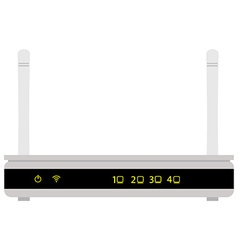 Realistic router vector
