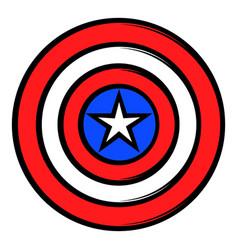 Usa star icon cartoon vector