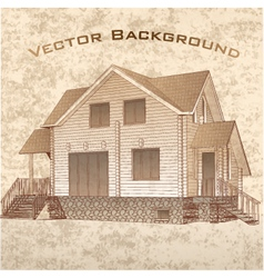Grunge Architectural Background vector image
