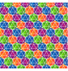 colorful crystal gradient background vector image vector image