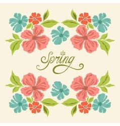 Spring symmetry vector